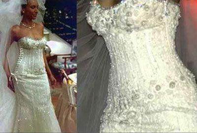самое дорогое платье от Ginza Tanaka