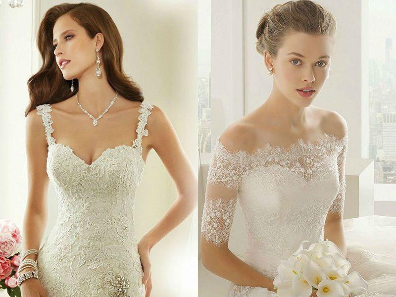 белое платье и жемчужные серьги