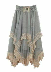 юбка-скатерть