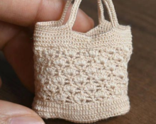 сумка для куклы модель 3