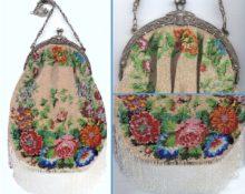 вязание бисером крючком сумки со схемами