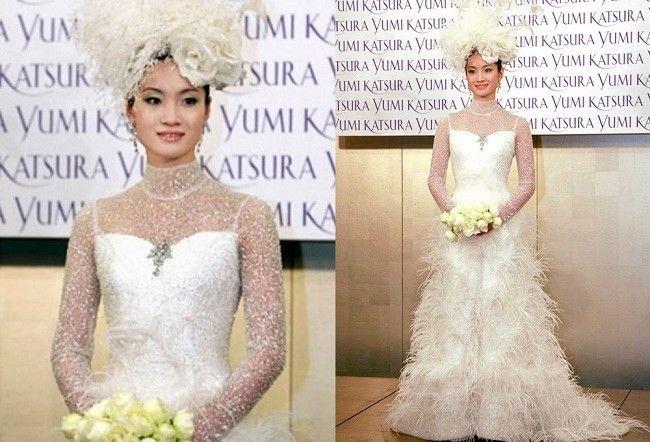 свадебное платье гинза танака