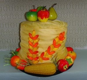 Шляпа на праздник осени