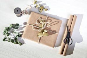 упаковать сумку в подарок