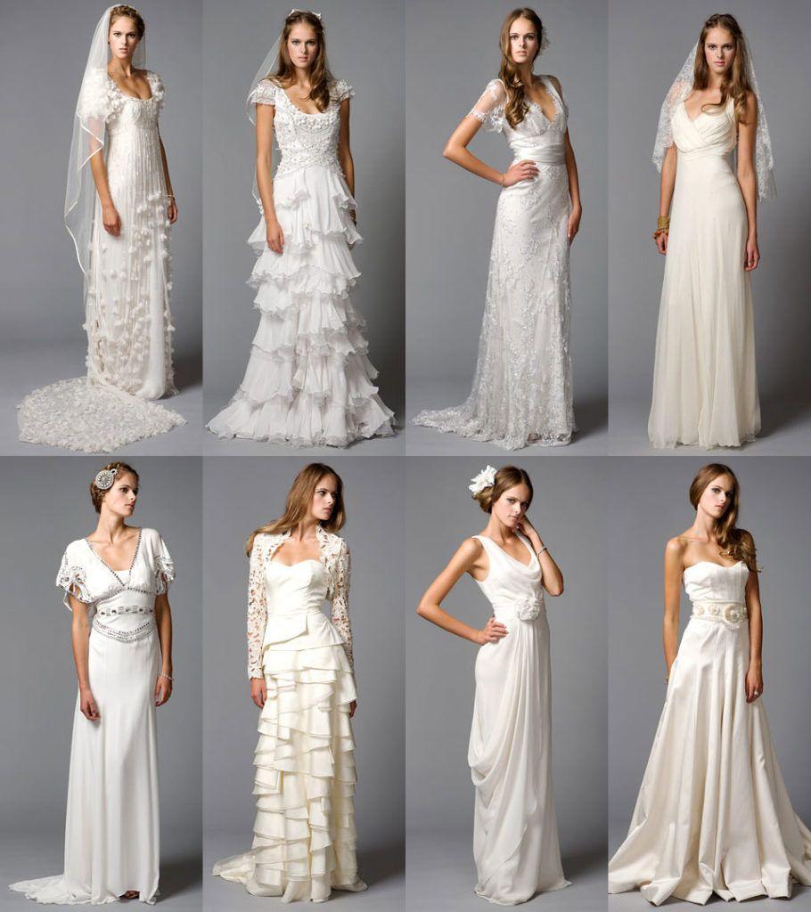 Свадебные платья декор