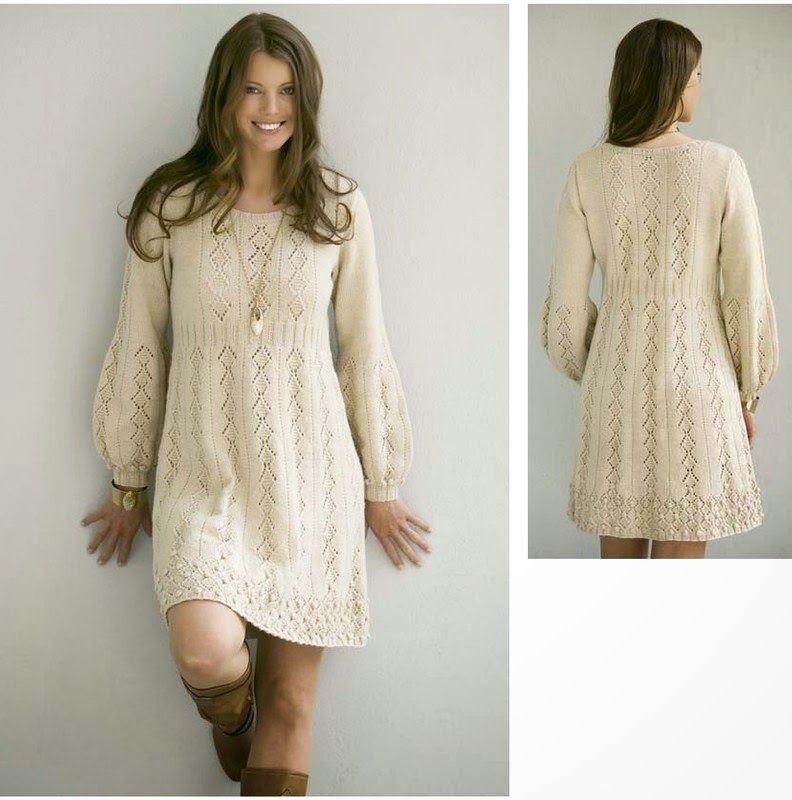 Трикотажное белое платье трапеция