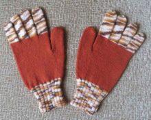перчатки на вязальной машине