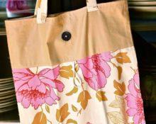 выкройка хозяйственной сумки из ткани