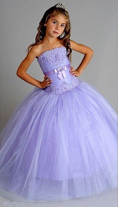 Сиреневое платье с корсетом
