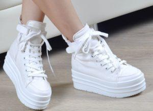 высокие женские кроссовки 2019