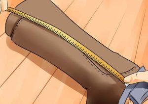 высота каблука не учитывается