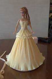 юбка для куклы из бумаги