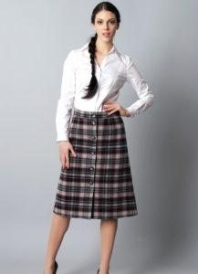 юбка для широких бёдер