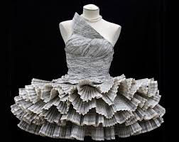 юбка из бумаги