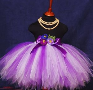 юбка пачка из органзы