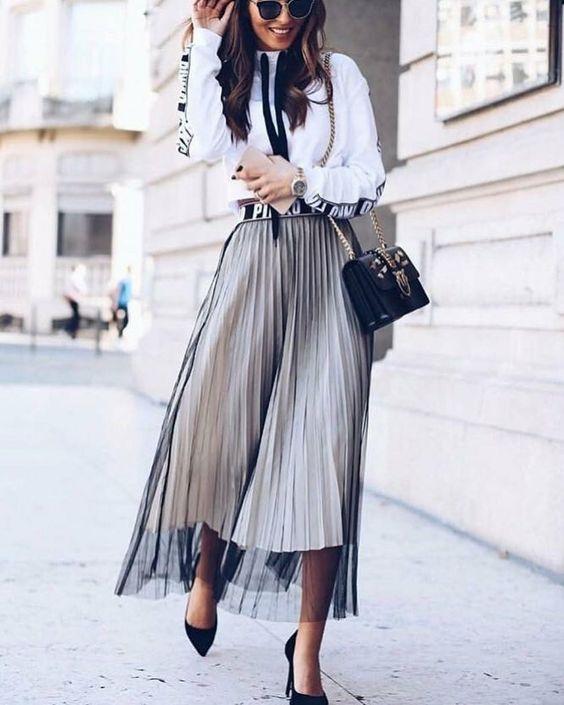 юбка плиссеровка