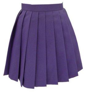 юбка с круговыми складками