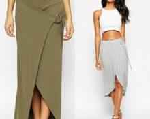 юбки с запахом 2018 модные тенденции