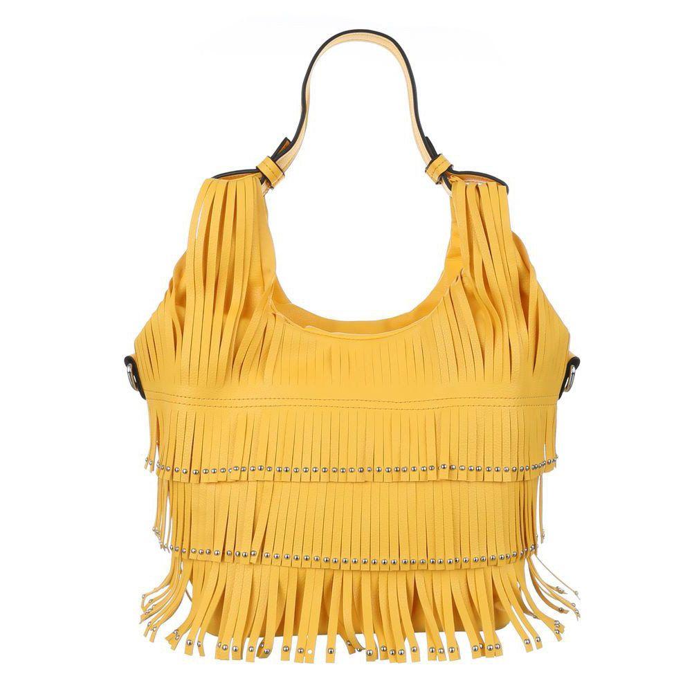 желтая сумка hobo