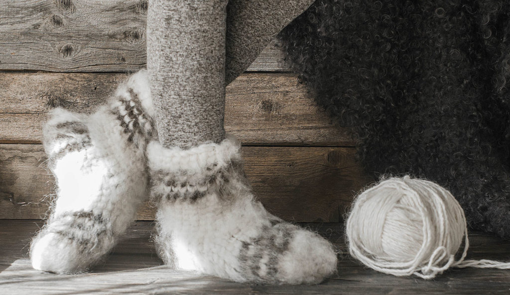 носки из бергшафт шерсти