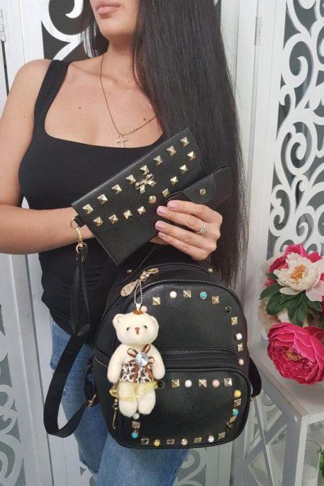 рюкзак с брелоком