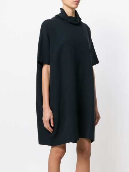 теплое платье шифт