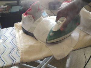 глажка обуви