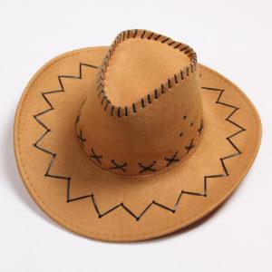 ковбойская шапка из ткани
