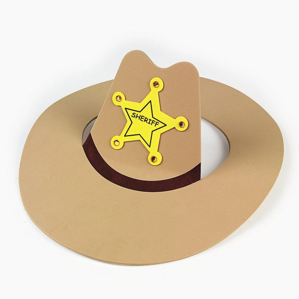 ковбойская шляпа из бумаги