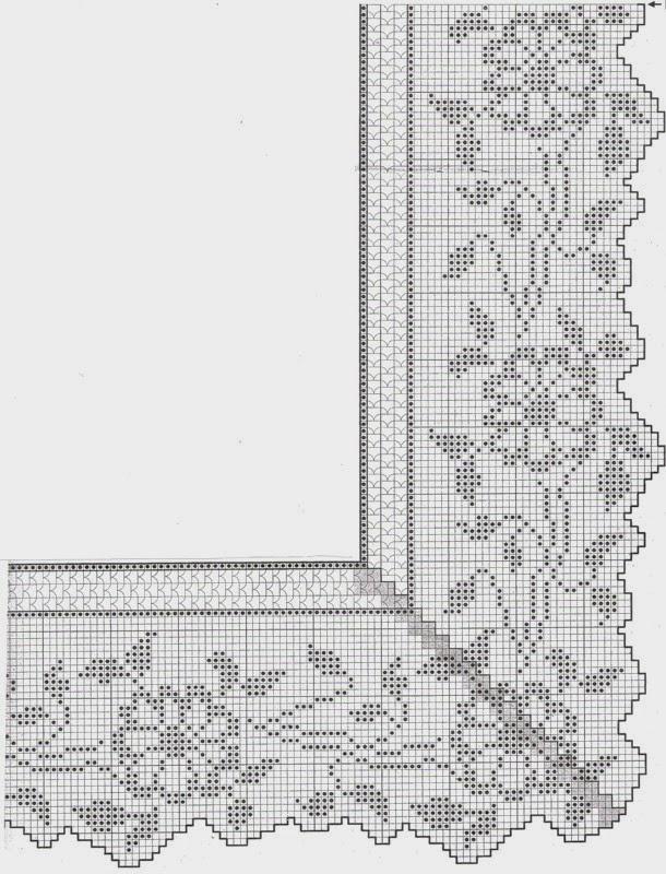 Схема кайми скатерти