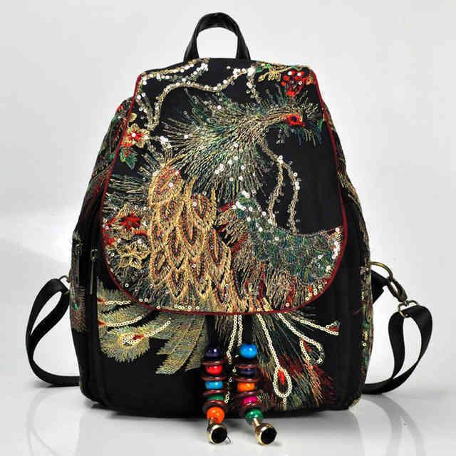 рюкзак с бисером