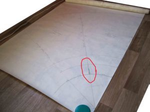 Оформление линии бокового шва