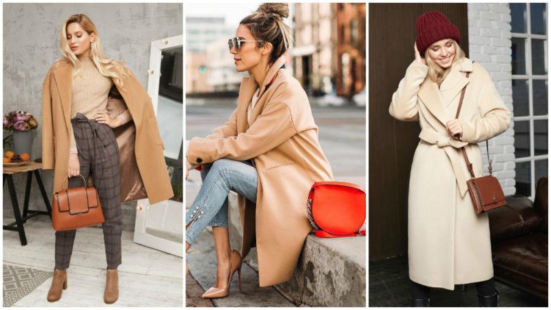 драповое пальто стильные образы