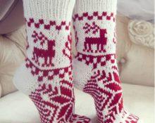 сколько пряжи нужно на носки