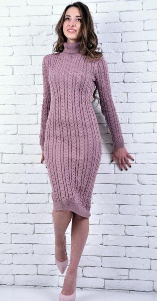 платье из велюровой пряжи