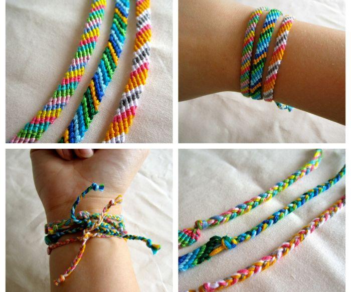 браслеты из ниток