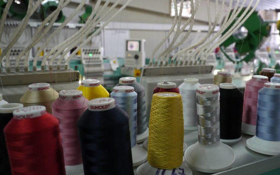 как ткут нитки