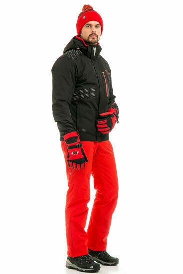 горнолыжный костюм с кроссовками