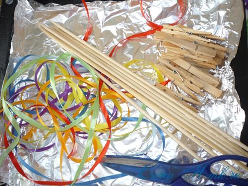 Атласные ленты инструменты и материалы