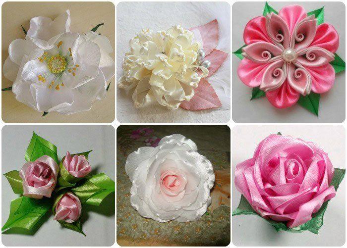 Разные техники изготовления цветов