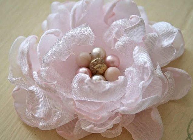 Середина цветка для платья