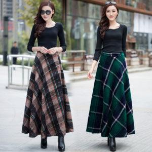 шерстяные юбки