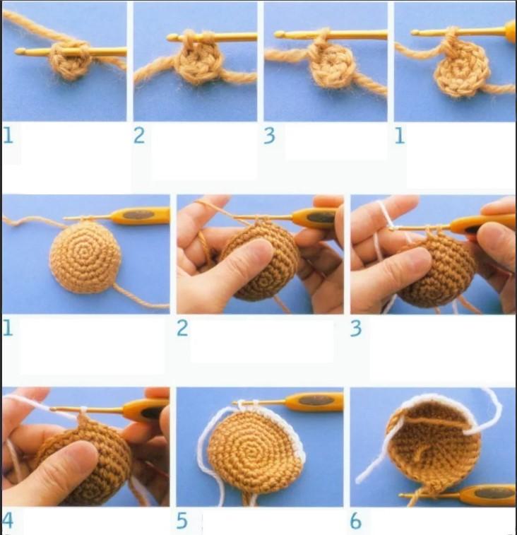 Игрушки кольцо амигуруми