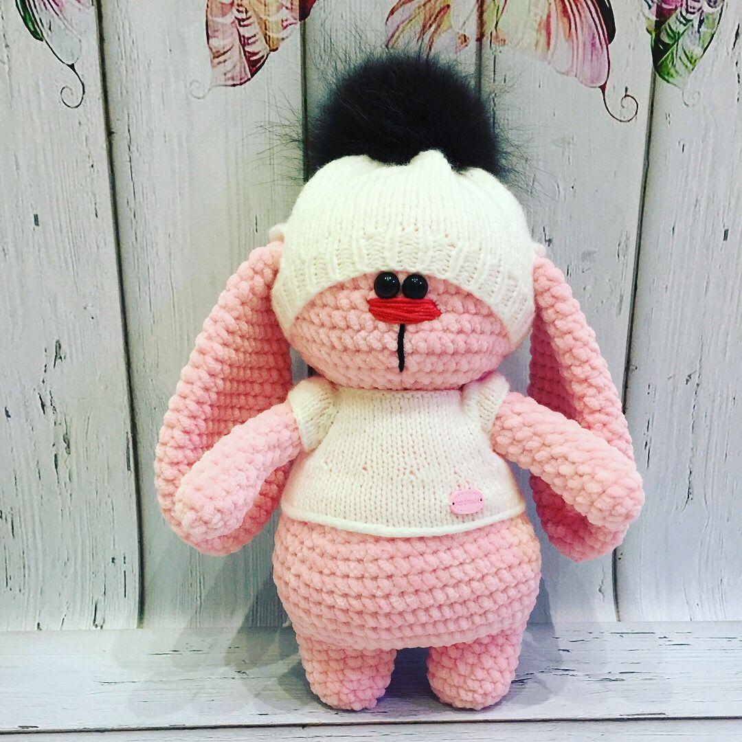 Игрушки заяц 1