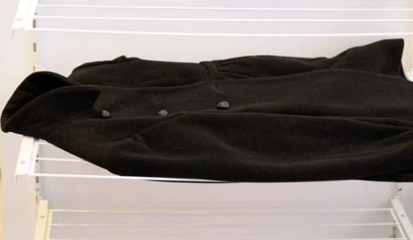 сушка драпового пальто