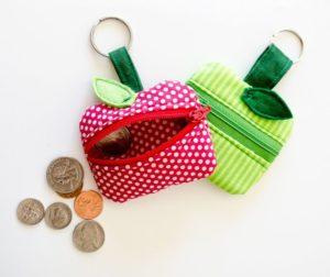 самодельный кошелёк для мелочи