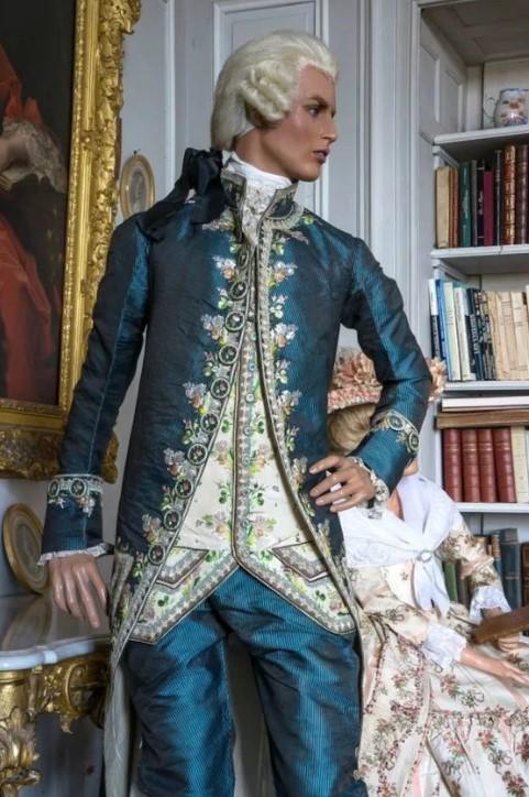 Люстрин 2 сюртук 18 век
