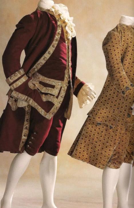 Люстрин сюртук 18 век