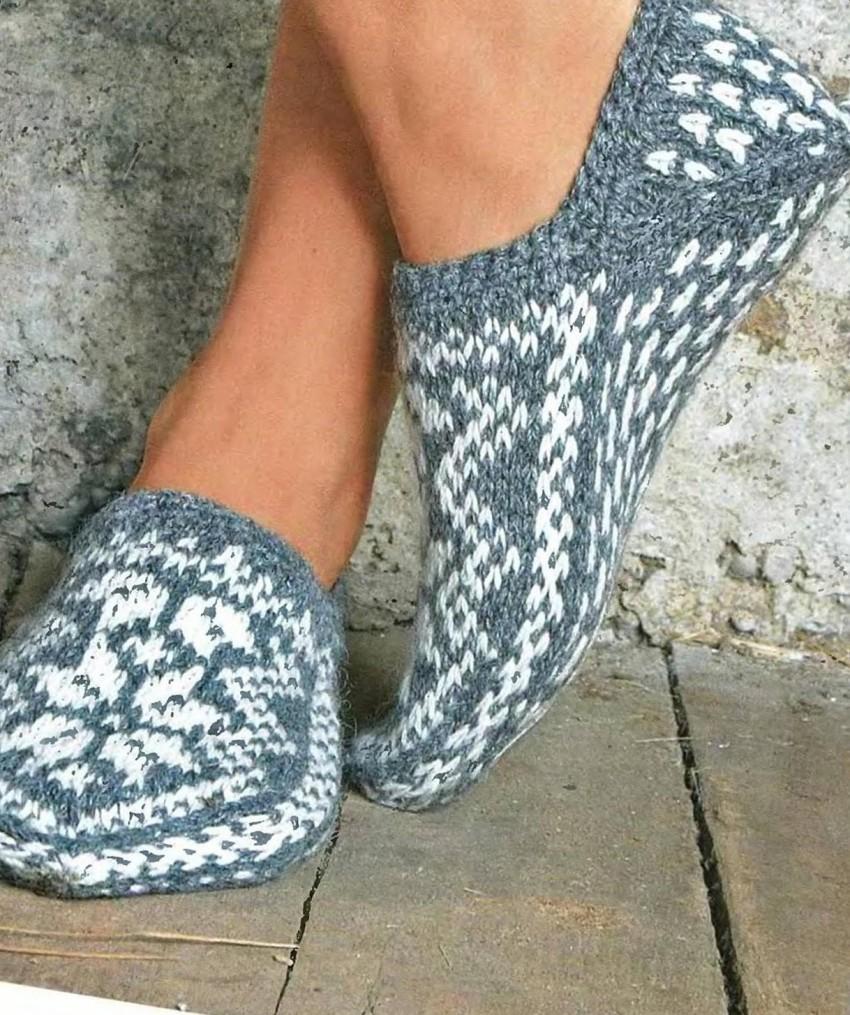 Носки тапочки 5
