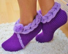 Носки тапочки 6